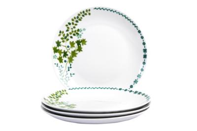 George Home Green Leaf Decal Dinner Plates \u2013 Set of 4  sc 1 st  George - Asda & George Home Green Leaf Decal Dinner Plates \u2013 Set of 4 | Tableware ...