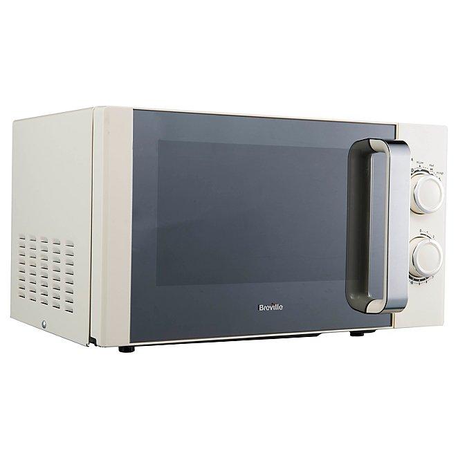 Cream Breville Manual Microwave
