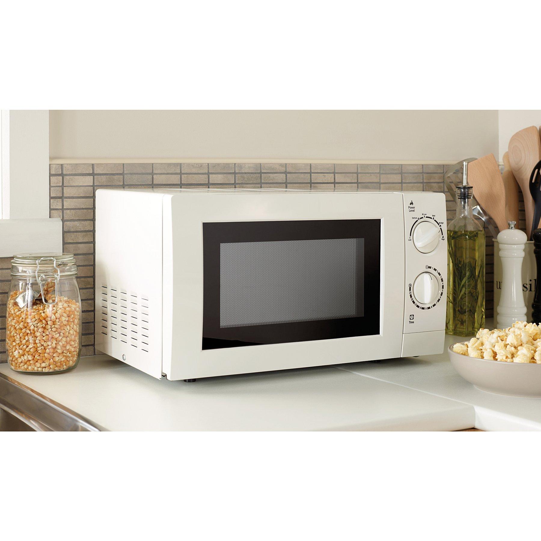 Manual Microwave White Reset