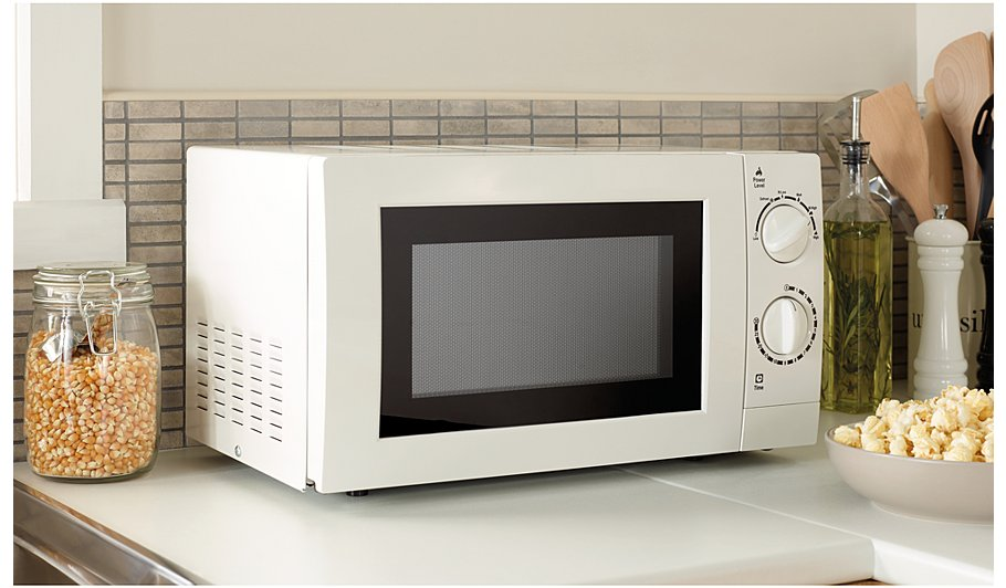 Manual Microwave White Hide Details