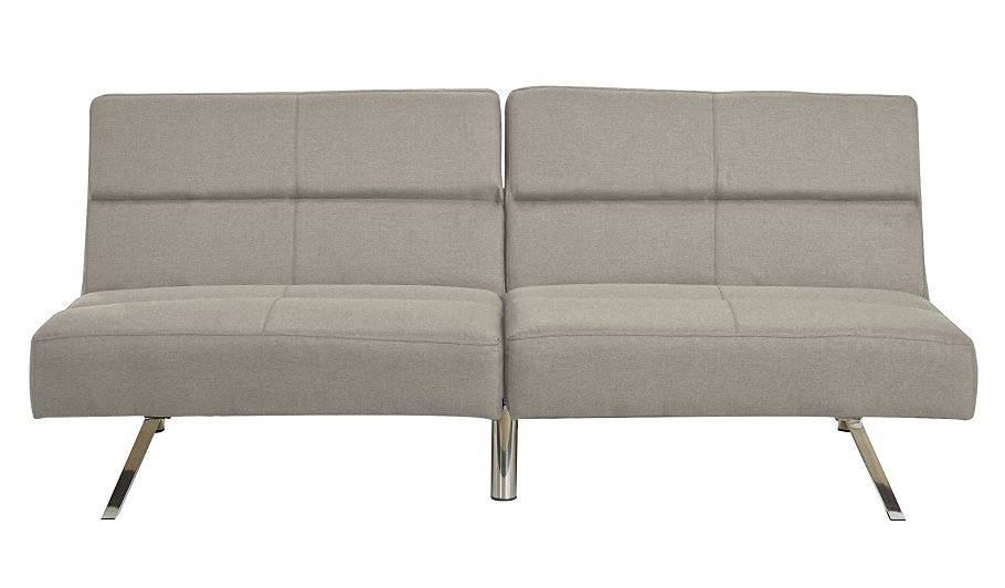 George home click clack sofa bed ash home garden - Sofa click clack ...