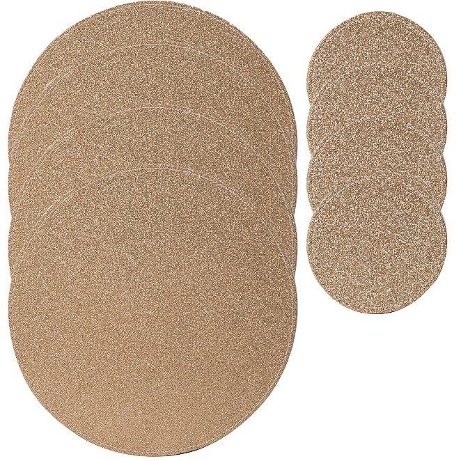 69fa6827e63e George Home Gold Glitter Coasters and Placemats - Set of 4 ...