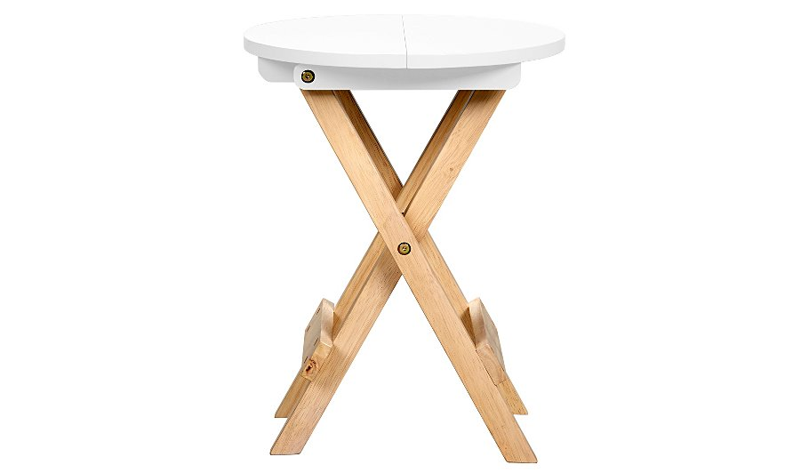 George Home Folding Table - White
