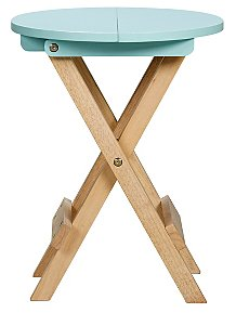 Folding Table Blue