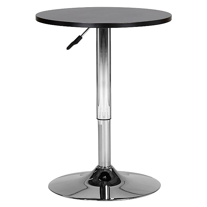 George Home Adjustable Bar Table Black Home Garden George