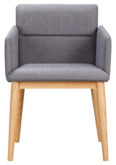 george home retro upholstered chair grey home garden