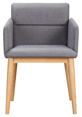 Merveilleux George Home Retro Upholstered Chair   Grey | Home U0026 Garden | George At ASDA