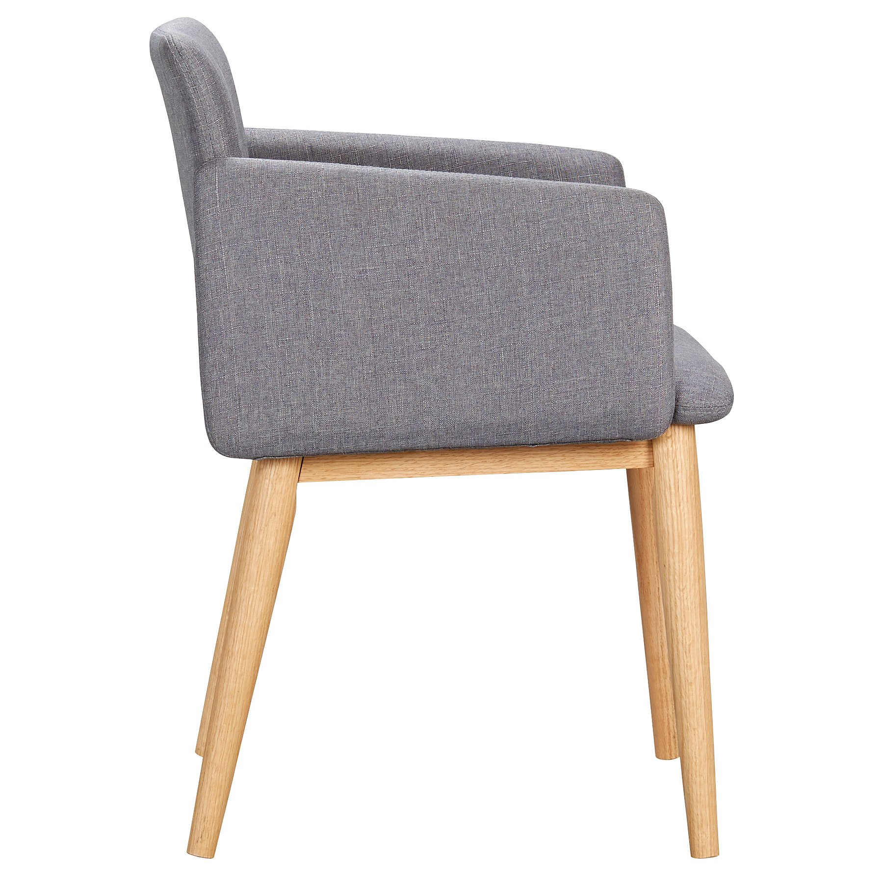 9beffa317 George Home Retro Upholstered Chair - Grey