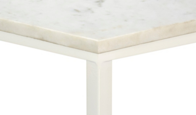 George Home Marble Side Table Home Garden George at ASDA