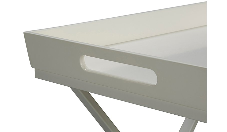 george home tray table white home garden george at. Black Bedroom Furniture Sets. Home Design Ideas