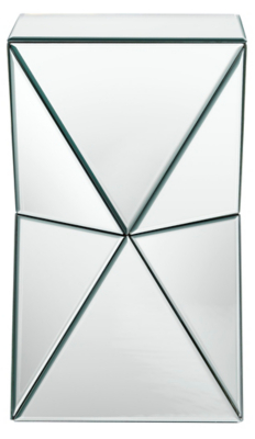 George Home Mirror Geometric Side Table Home Garden George