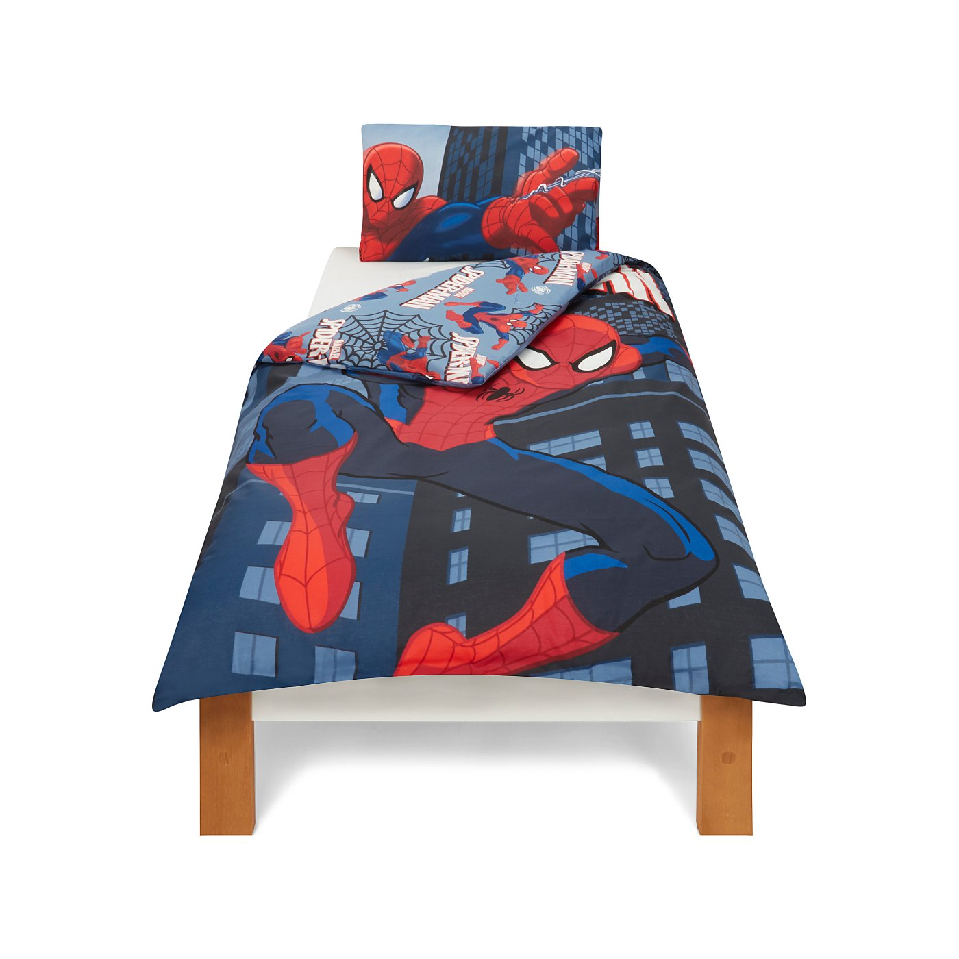 Spiderman Cot Bed Cover