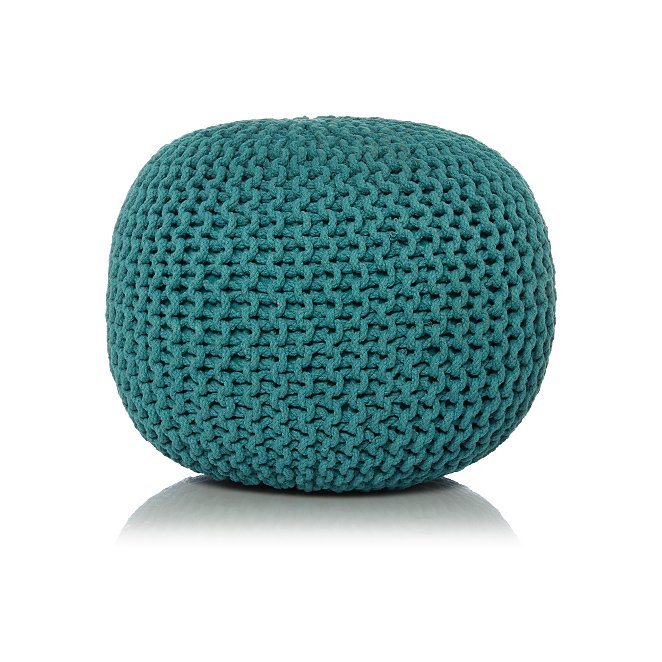 Peachy Knitted Pouffe Inzonedesignstudio Interior Chair Design Inzonedesignstudiocom