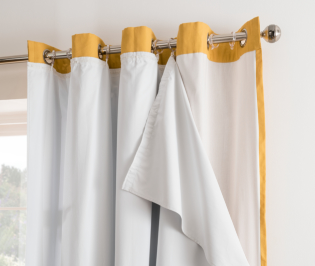 white blackout curtain lining | home & garden | george