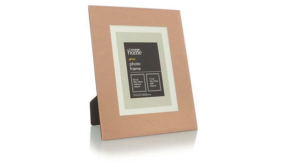 George Home Copper Glass Photo Frame 7x5 Inch | Home & Garden ...