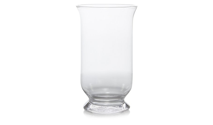 George Home Glass Hurricane Vase Home Garden George At Asda