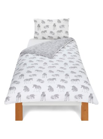 Unicorn Zebra Bedding Range
