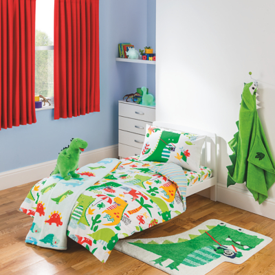 Genial Dinosaur Toddler Bedding Range Main View · Dinosaur Toddler Bedding Range  Alternative View
