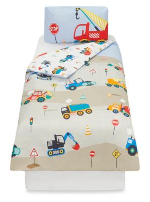 Construction Toddler Bedding Range. Loading Zoom