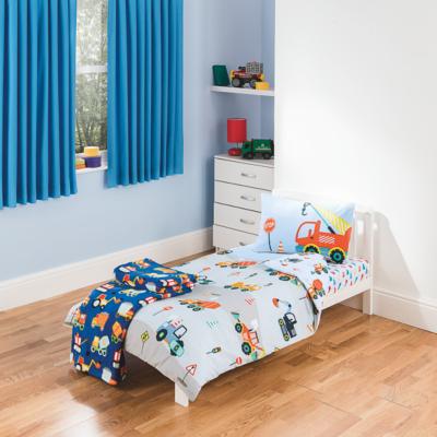 Superb Construction Toddler Bedding Range Main View · Construction Toddler Bedding  Range Alternative View