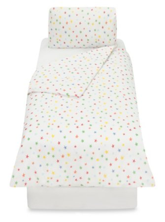 Reversible Star Toddler Bedding Range