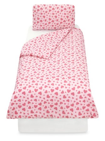 Tiny Heart Toddler Bedding Range