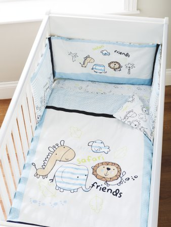 Safari Friends Bedding Range