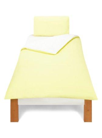 Reversible Yellow & White Bedding Range