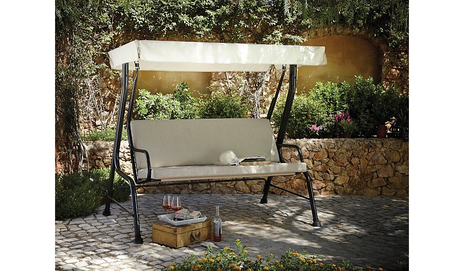 haversham swing seat linen home garden george