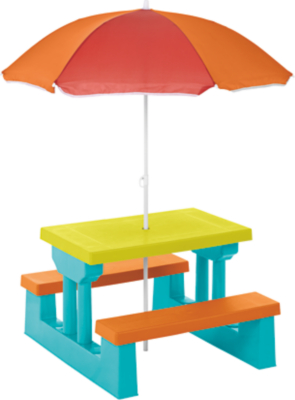 Awesome Kids Table And Bench Set