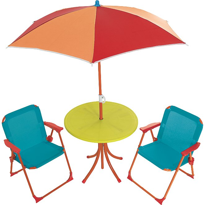 Kids Patio Furniture.Kids 4 Piece Patio Set