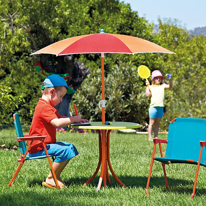 Awe Inspiring Kids 4 Piece Patio Set Download Free Architecture Designs Viewormadebymaigaardcom