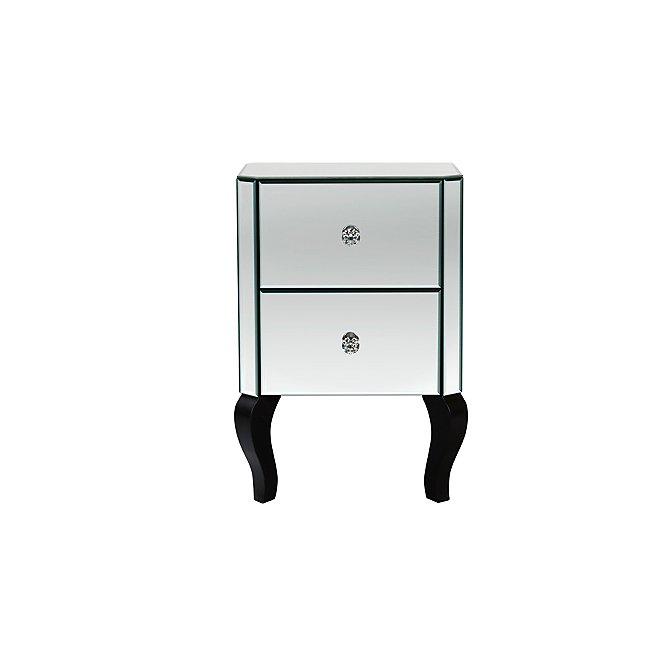 Primrose Mirror Bedside Table
