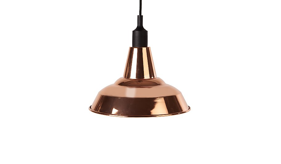 George home diner pendant bronze shade home garden george at asda diner pendant bronze shade mozeypictures Image collections