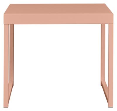 Metal Side Table   Pink