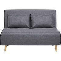 Wrap Sofa Bed   Charcoal by Asda