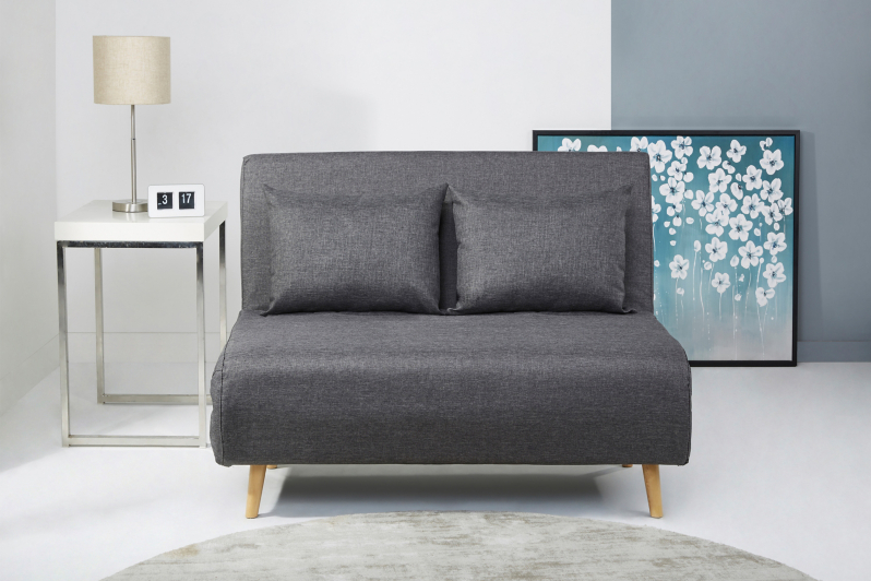 Wrap Sofa Bed Charcoal Furniture George