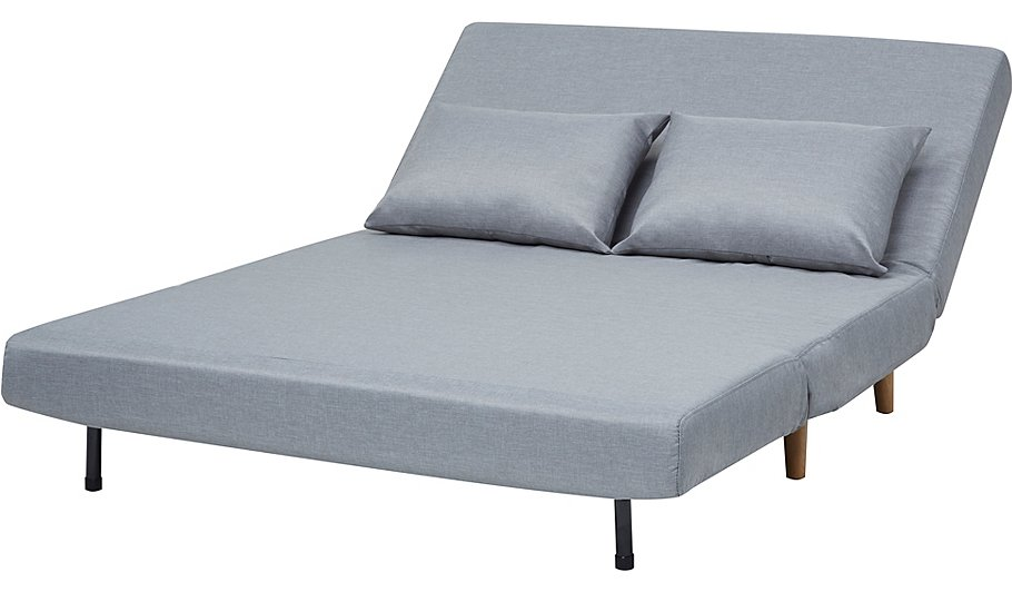 Wrap sofa bed grey furniture george for Wrap around sofa bed
