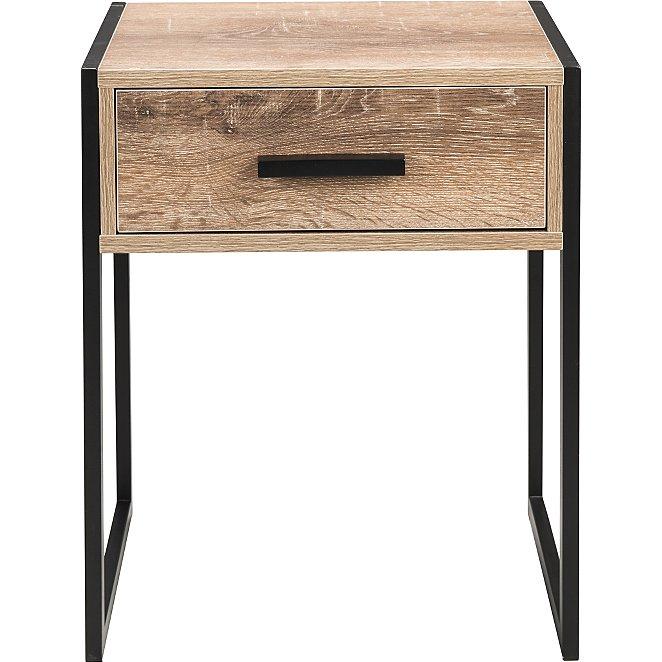 Irving Bedside Table Black