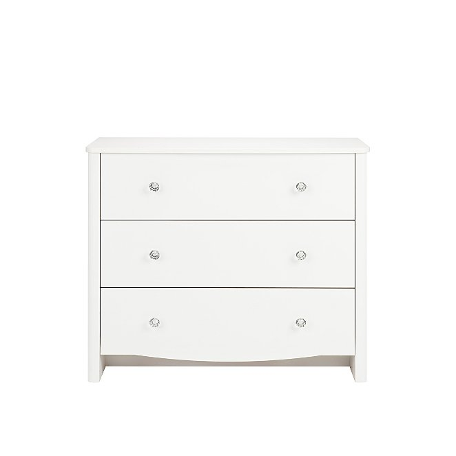 Princess Chest Of 3 Drawer Chest Of Drawers White Furniture George