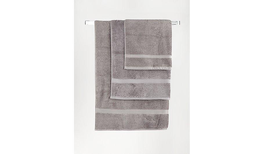 george home super soft cotton bath towel steel home. Black Bedroom Furniture Sets. Home Design Ideas