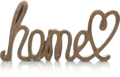 Wonderful Home Word Ornament