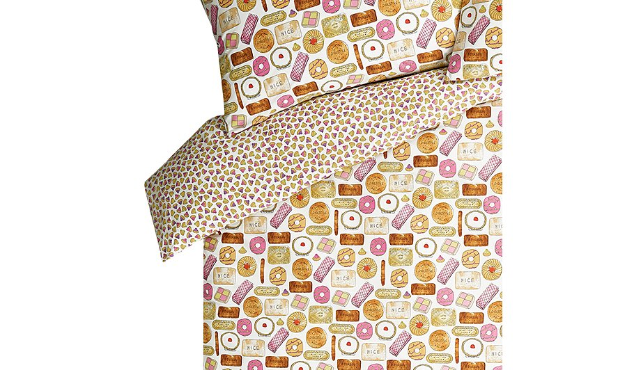 Orted Biscuits Duvet Cover