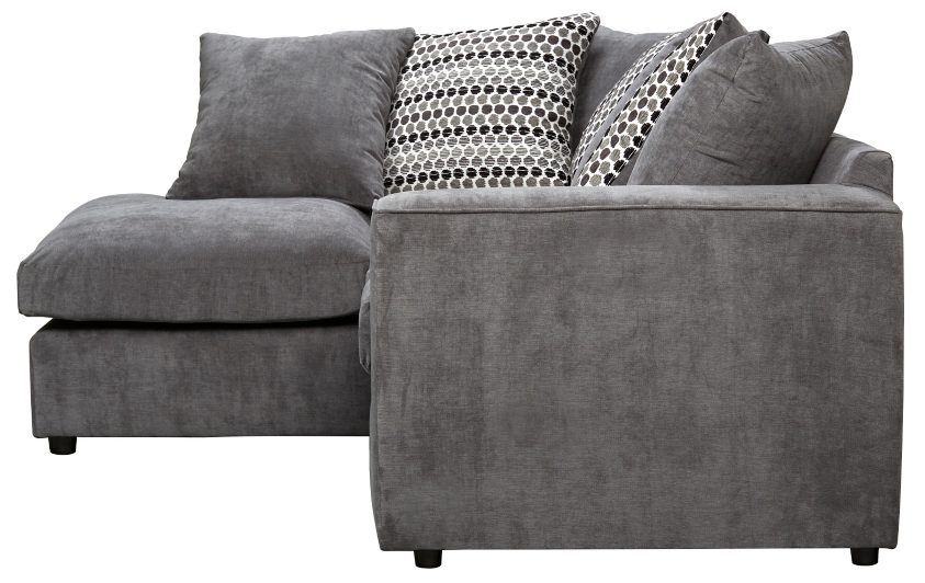 Todd Right Hand Corner Chaise Charcoal Home Amp Garden
