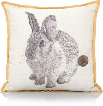 Bunny Pom Pom Cushion