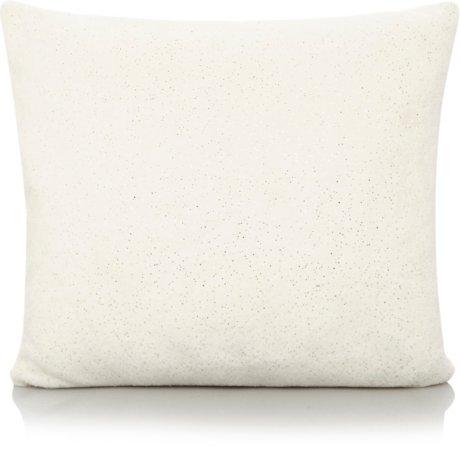 Cream Sparkle Cushion & Throw Range