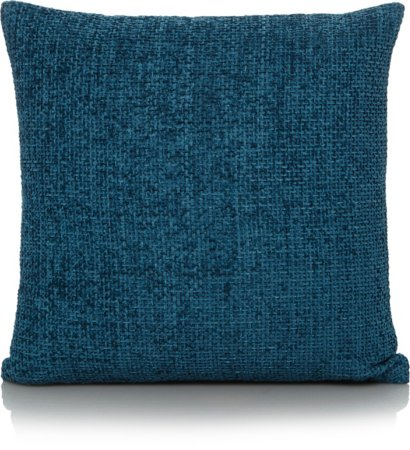 Blue Chenille Cushion - Various Sizes