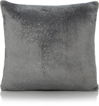 Charcoal Sparkle Cushion & Throw Range