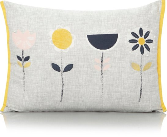 Scandi Flowers Cushion