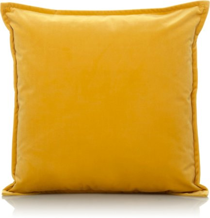 Yellow Velvet Cushion - Various Sizes